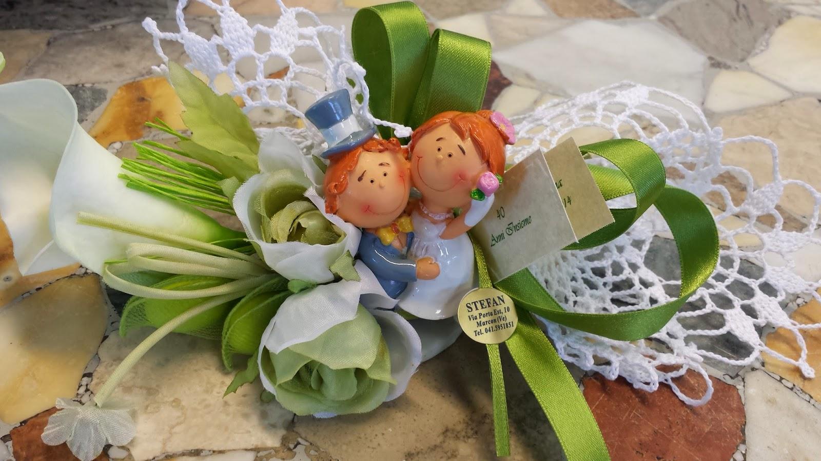 Bomboniere Per Anniversario Di Matrimonio 40 Anni.Bombonierestefan 40 Anni Di Matrimonio Bomboniere Per L Anniversario