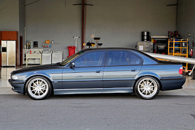 Eksterior BMW E38 Seri-7 Short
