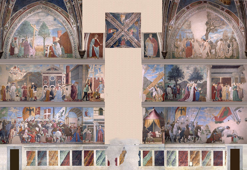 Piero  della  Francesca  The  History  of  the  True  Cross C