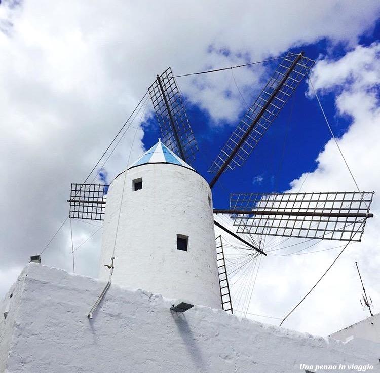 Mulino a vento Sant Lluis Minorca