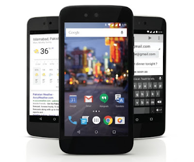 Android One Launched in Pakistan – Qmobile A1