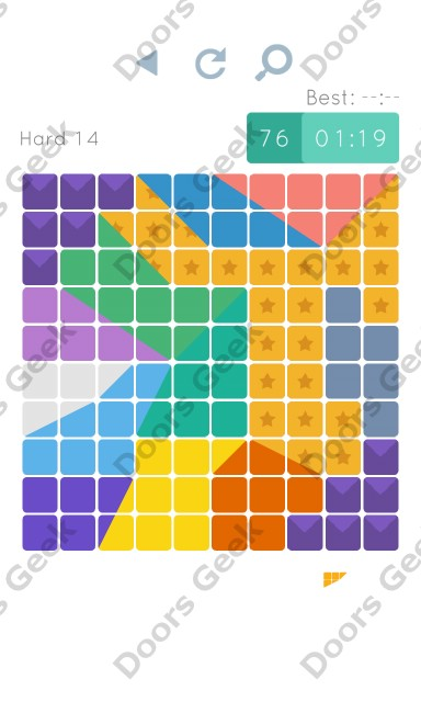 Cheats, Walkthrough for Blocks and Shapes Hard Level 14