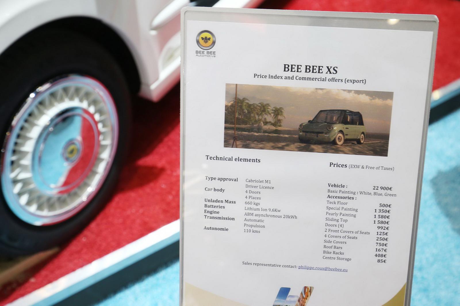 Bee-Bee XS 2016