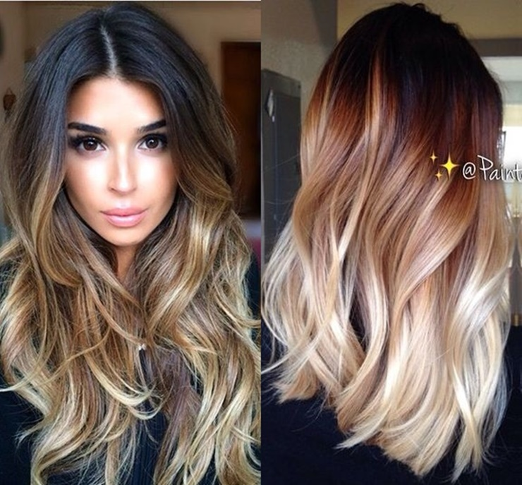 This Is An Incredible Way To Lighten Up Your Brown Hair Blonde Check How Achieve Ombre Hairstyle