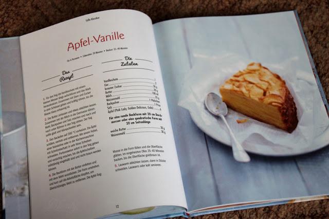 Apfel-Vanille Rezept aus dem Buch 'Superkuchen! 90% Frucht - 10% Teig'