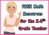 Free Math Resources from Teachers Take Out