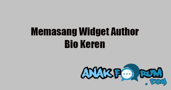 widget bio
