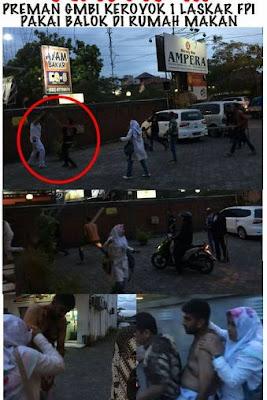 Polisi Selidiki Kasus Serangan terhadap Anggota FPI di RM Ampera Bandung