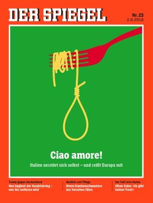 Spiegel: Ciao amore! Η Ιταλία αυτοκαταστρέφεται και παρασύρει και την Ευρώπη