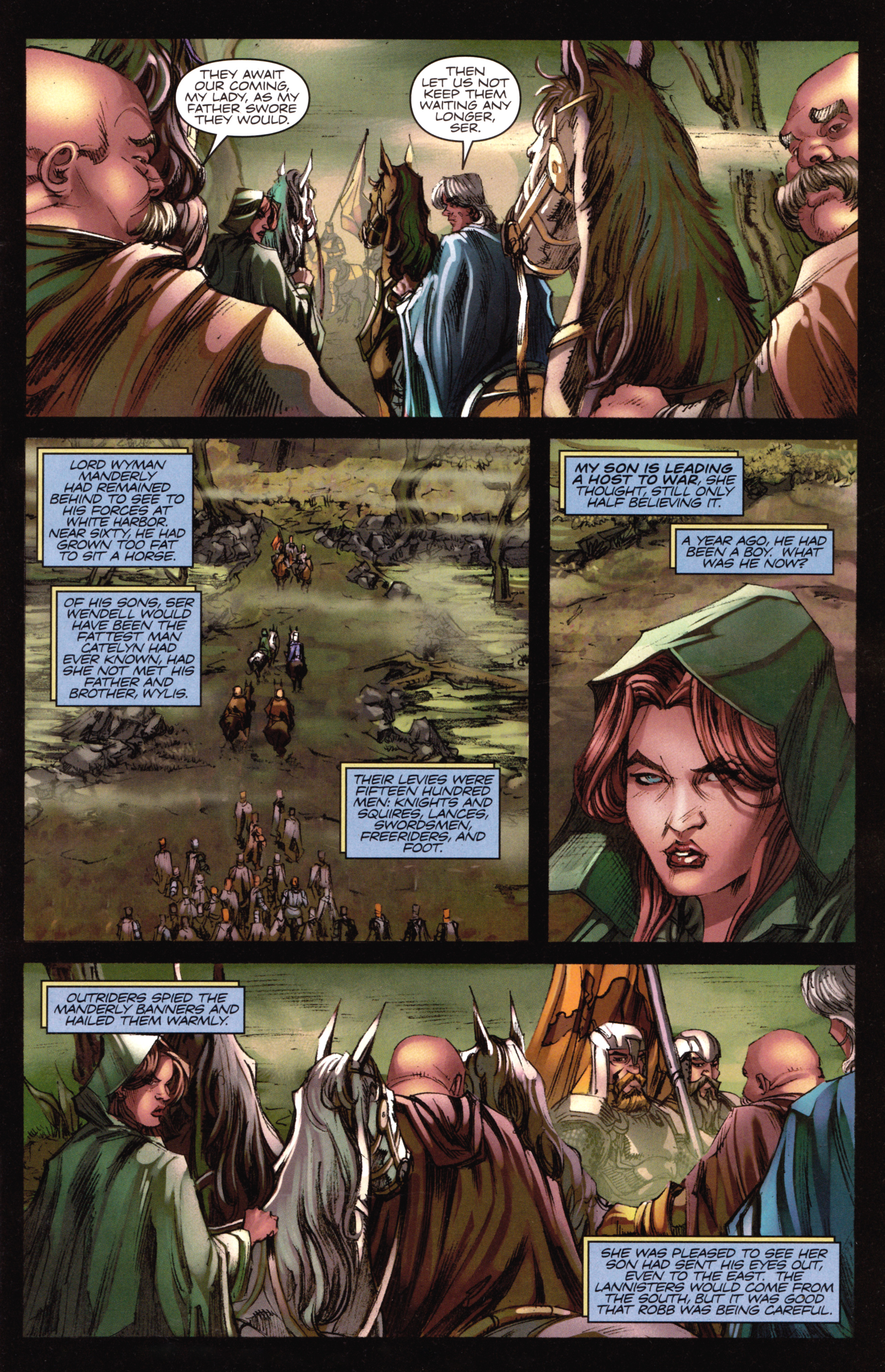 Read online A Game Of Thrones comic -  Issue #18 - 3