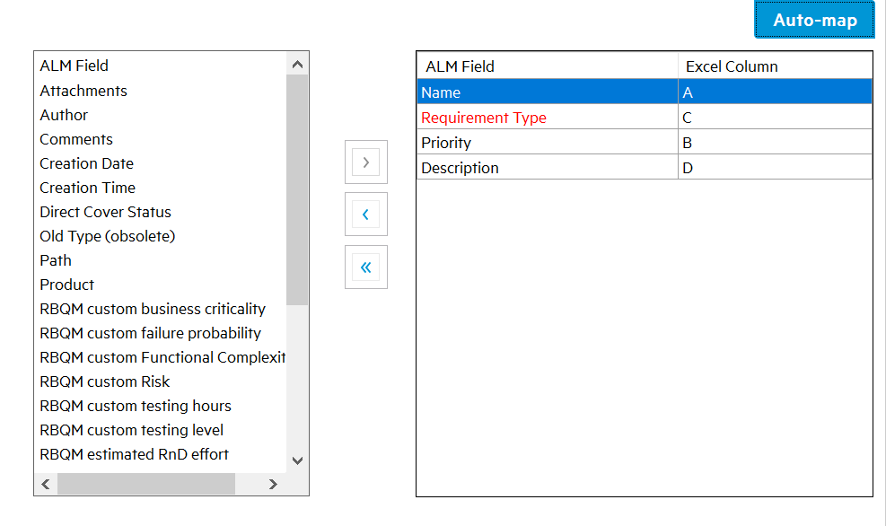 Importing Requirements into HP-ALM Using Excel - QA Automation