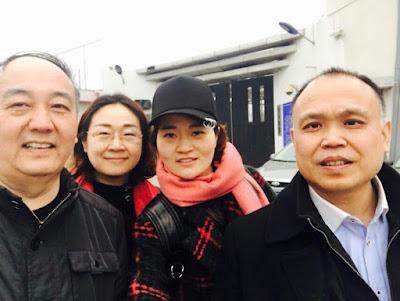 2017年3月22日李和平王全璋案维权纪实