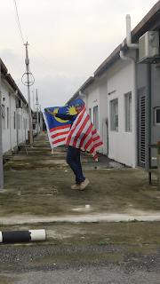 Wake up Malaysia, Kibar Jalur Gemilang, Bendera Malaysia, Patriotik, Qiya Saad, street style,