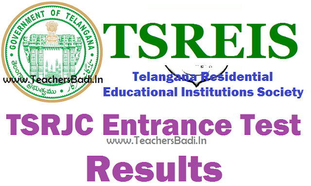 TSRJCCET 2017 Results,TSRJC Results 2017, Key-Question Papers