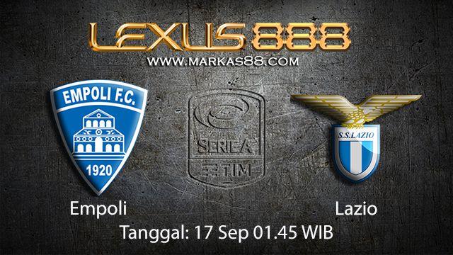 Prediksi Bola Jitu Empoli vs Lazio 17 September 2018 ( Italian Serie A )