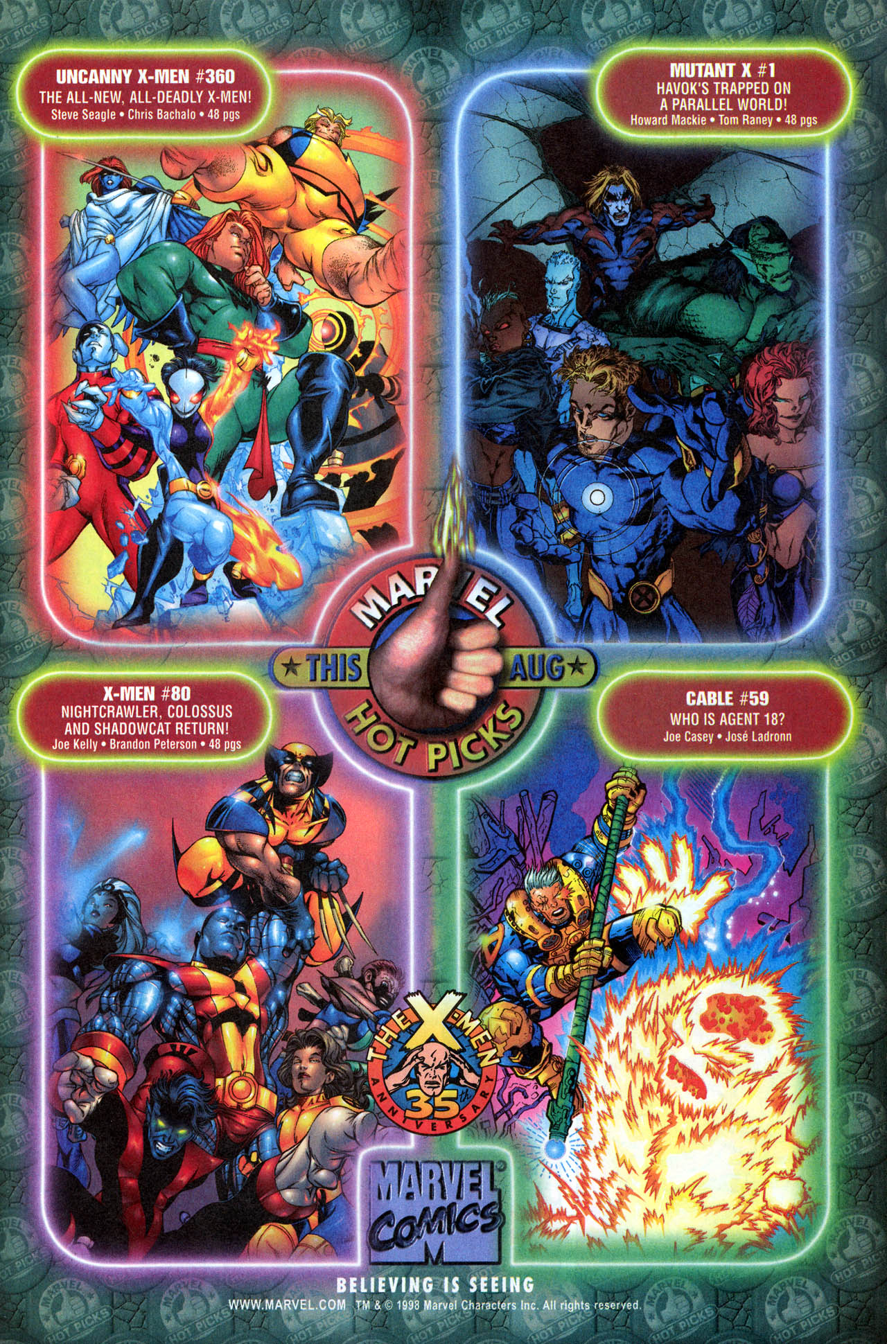 Read online X-Force (1991) comic -  Issue #81 - 31