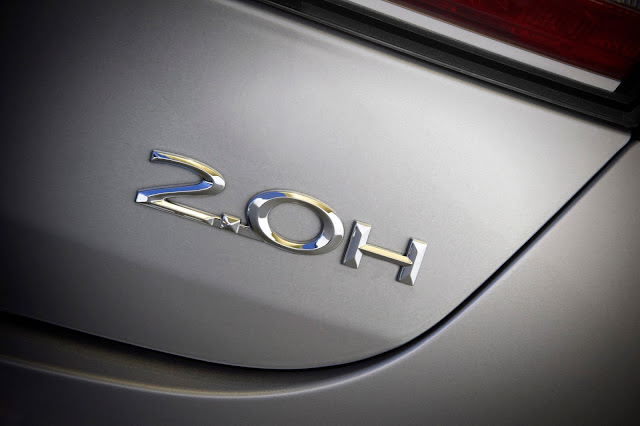 Trunk badge of 2017 Lincoln MKZ Reserve Hybrid