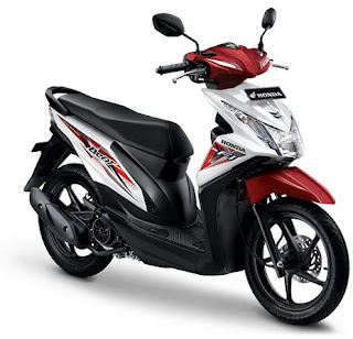 there are 3 color variants owned honda beat fi such as electro red rock black and white tecno read specifications price new scoopy