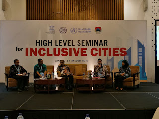 Walikota Mas'ud Yunus Jadi Pembicara 'High Level Seminar for Inclusive Cities'