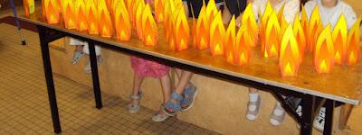 flammes de pentecote