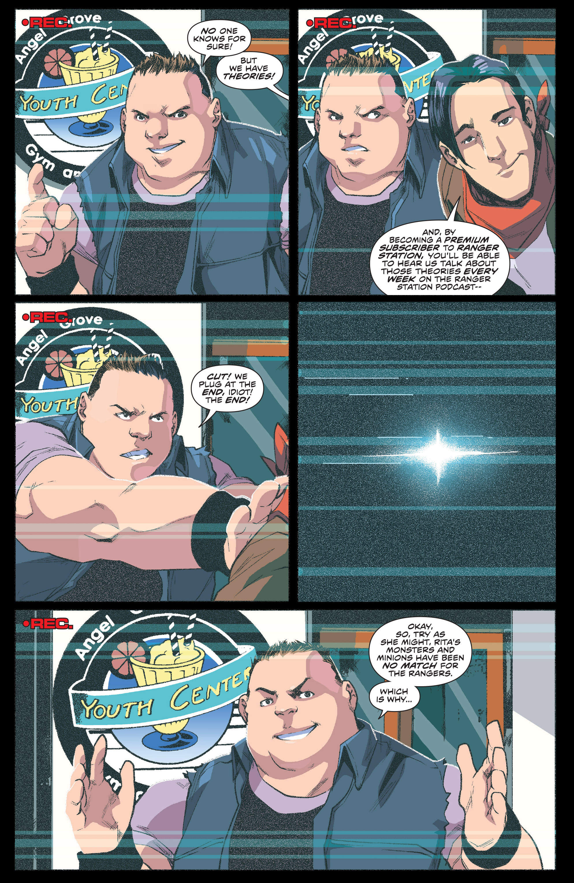 Read online Mighty Morphin Power Rangers comic -  Issue #1 - 5