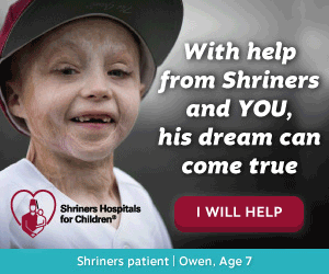 Donate to the Shriners Hospitals for Children