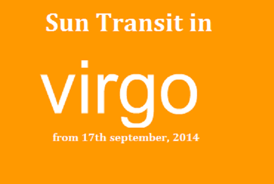 Sun Transiting in Virgo From September 17