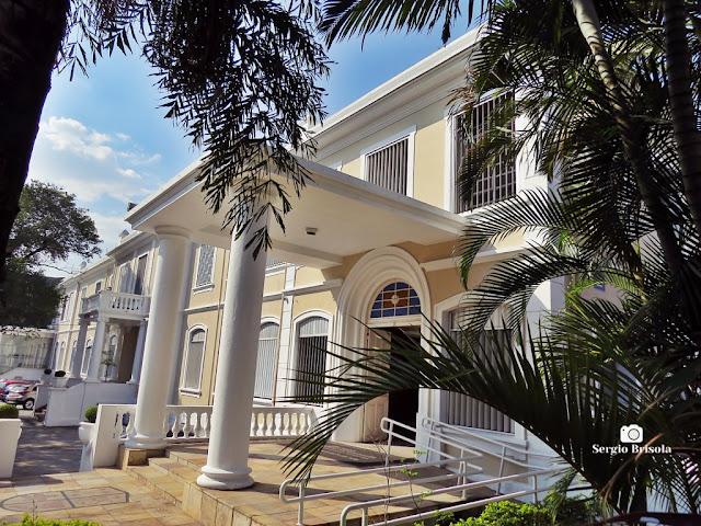 Vista parcial da fachada do Colégio São Francisco Xavier - Ipiranga - São Paulo