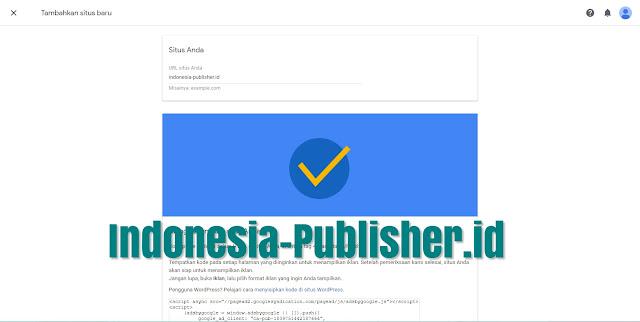 Cara Lolos Review add site Google Adsense
