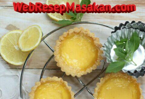 pie susu lemon, resep pie susu lemon, cara membuat pie susu lemon,