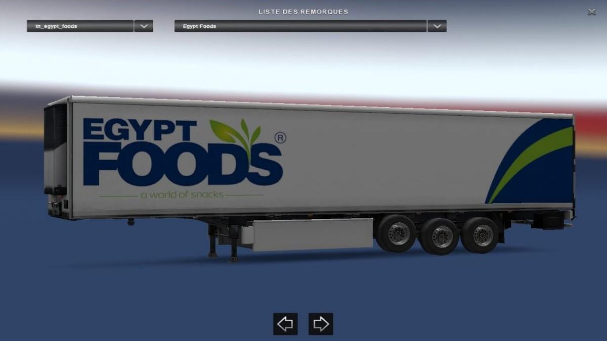 Egypt Foods Trailer