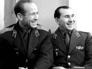 I cosmonauti della Voshkod 2: Leonov e Belyayev