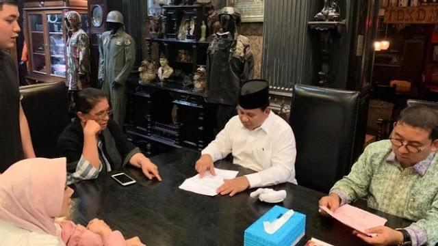 Prabowo Minta Pendukungnya Simpati ke Ahmad Dhani
