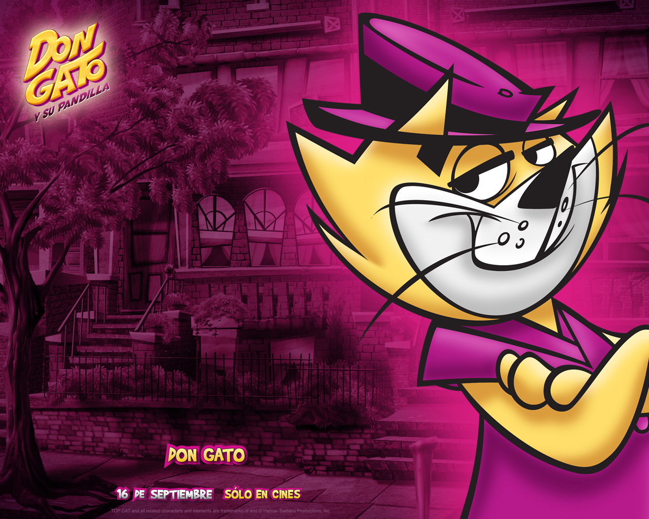 A MILLION OF WALLPAPERSCOM TOP CAT 3D MOVIE WALLPAPERS