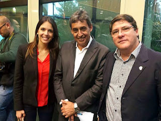 Any Ortiz, Melo e Paulo Marques PMDB