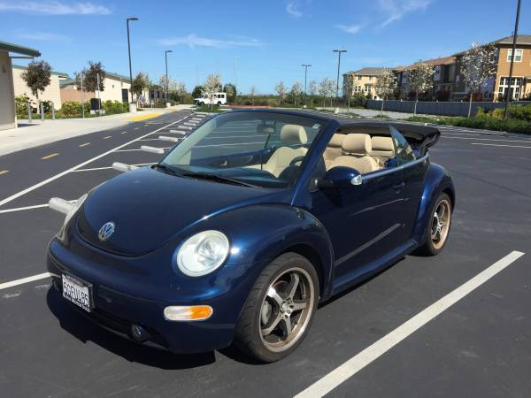 2004 VW Convertible Beetle