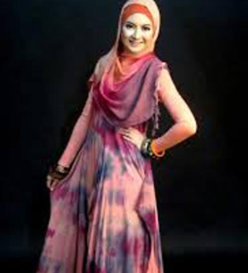 model baju sasirangan wanita modern