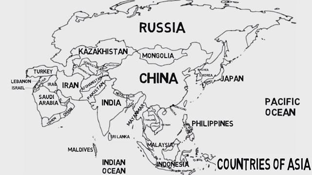 negara-negara di benua asia