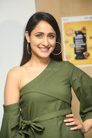 Pragya Jaiswal in a single Sleeves Off Shoulder Green Top Black Leggings promoting JJN Movie at Radio City 10.08.2017 098.JPG