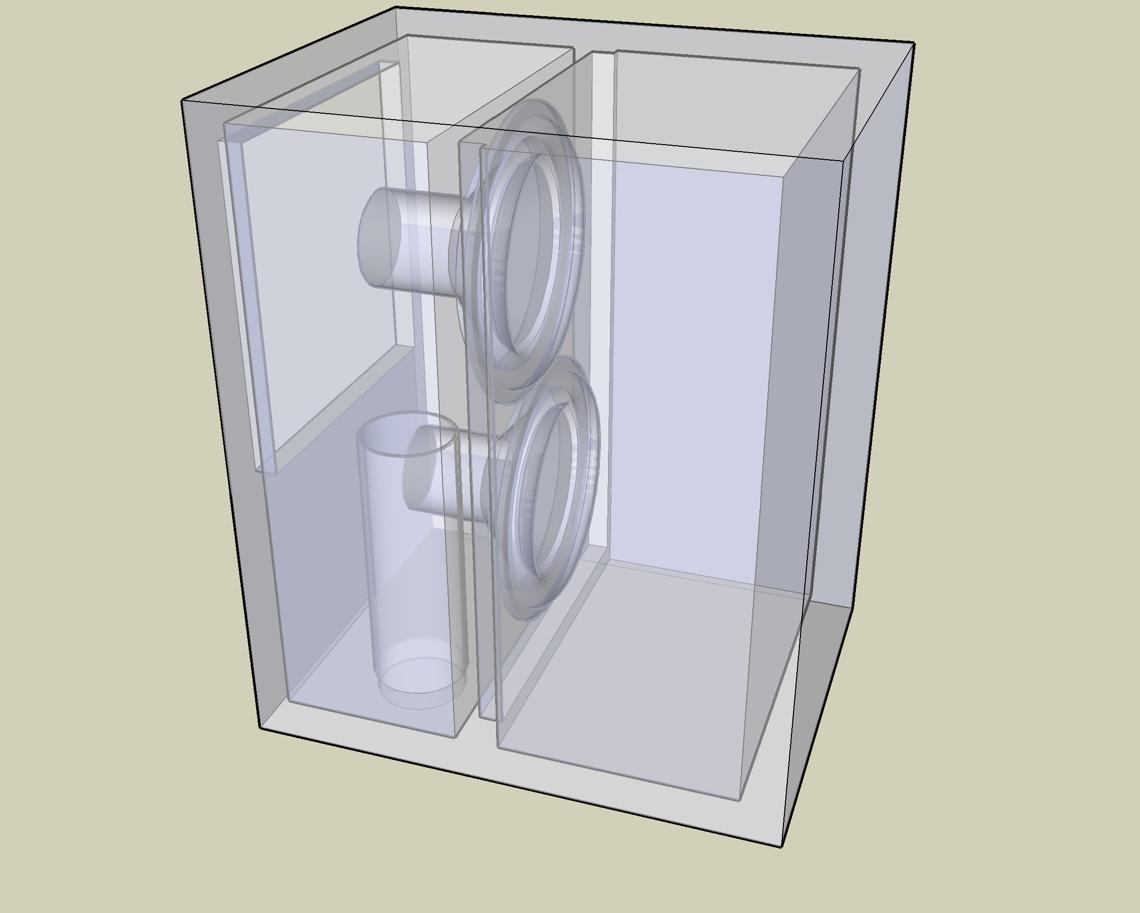 jimus: Crossover pasif Kalkulator, Woofer Box Modeling