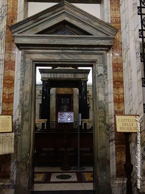 santa cruz jerusalem capela reliquia guia portugues roma - A basílica de Santa Cruz em Jerusalém
