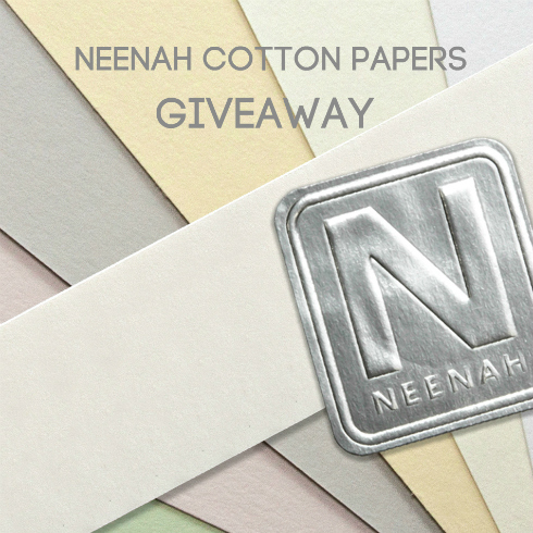 NEENAH Cotton Papers - 100% cotton paper sheets