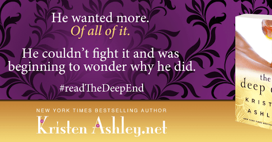 Trailer Reveal - THE DEEP END by Kristen Ashley