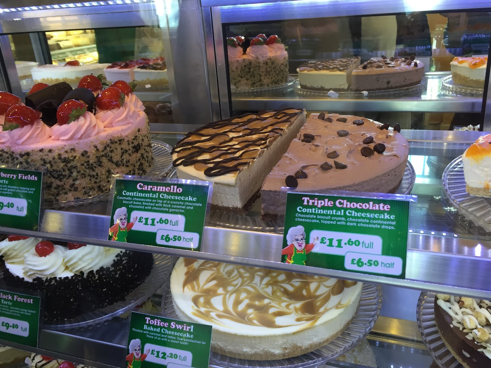 The Cheesecake Shop Nottingham  ramblings of a devoted tea drinker