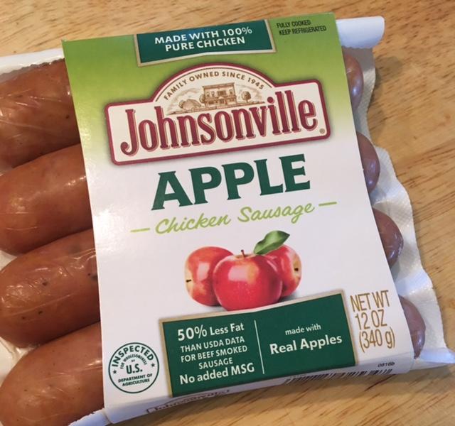 Johnsonville Apple Chicken Sausage Beautify