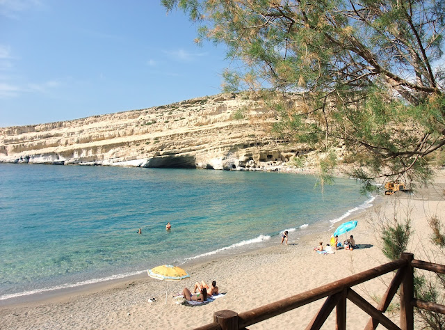 spiaggia di Matala, Creta