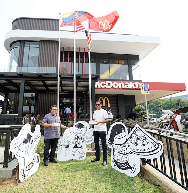 McDonald's Burger Syok x Datuk Lat