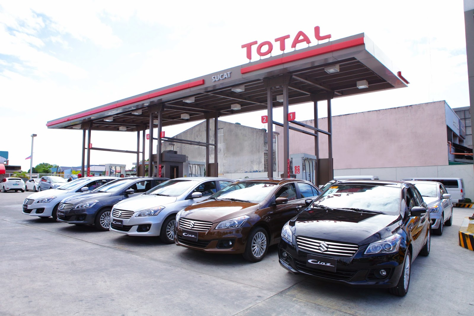 Suzuki Philippines partners with TOTAL