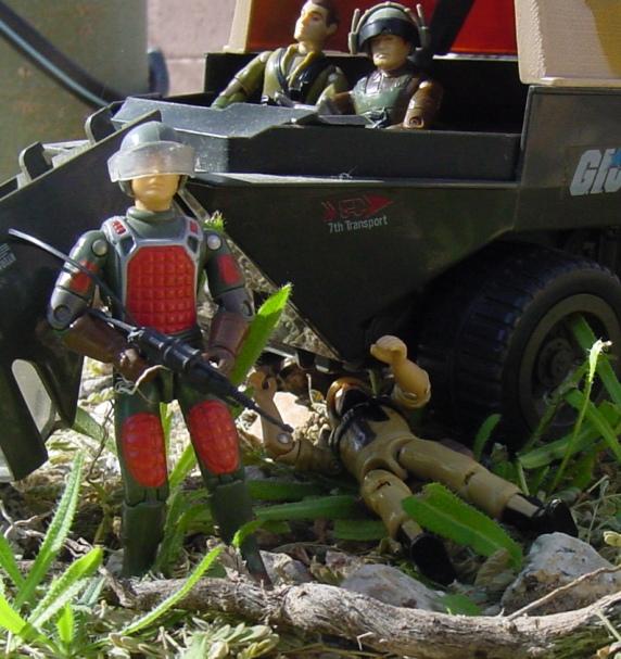 1983 Flash, Laser Trooper, 1984 Clutch, Steeler, Thunder, APC