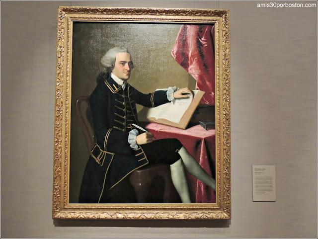 Cuadro de John Hancock del Museo de Bellas Artes de Boston